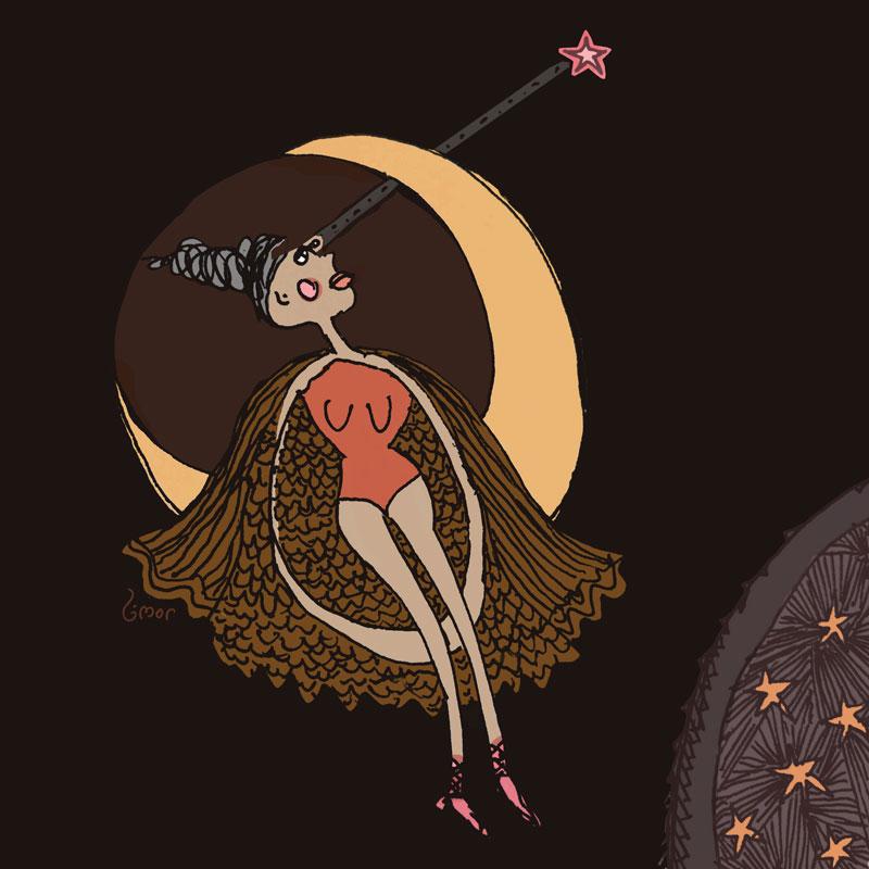 """Art: """"Stargazer"""" by Limor Farber"""
