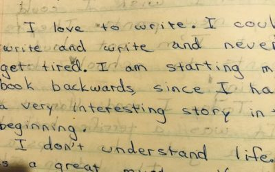 Sharing a Diary – How Story Saves Us